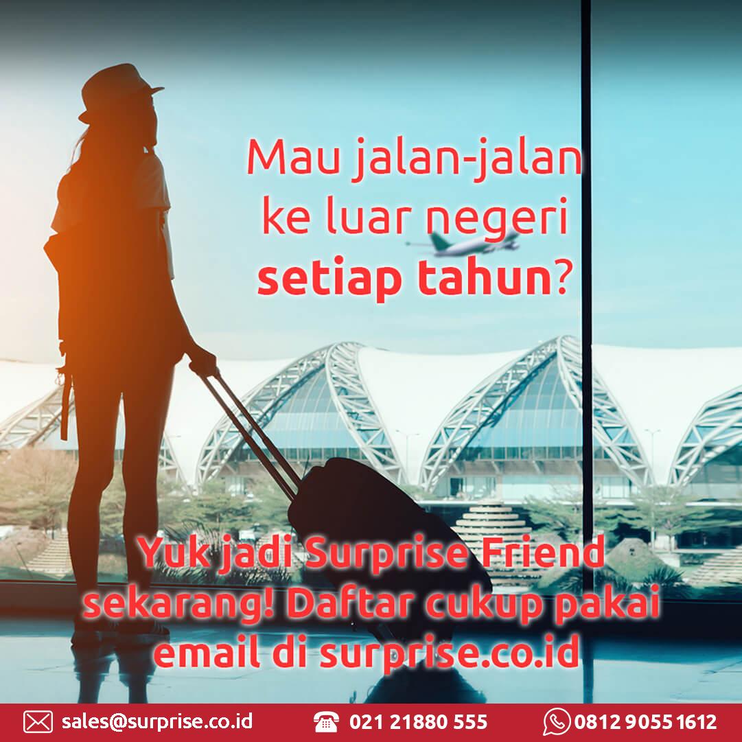 jalan-jalan ke luar negeri surprise peluang usaha tour travel