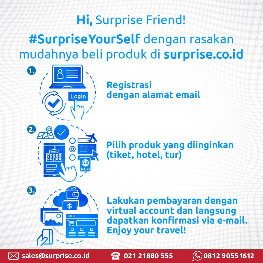 surprise peluang usaha tour travel